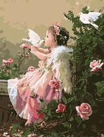 """Картина по номерам """"Поцелуй ангела"""" (500x650 мм; арт. MMC044)"""