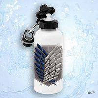 """Бутылка для воды """"Атака титанов. Разведкорпус"""" (600 мл)"""