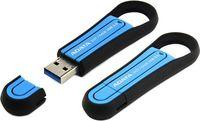 USB Flash Drive 64Gb A-Data S107 USB 3.0 (Blue)