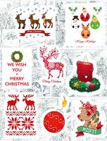 """Набор глянцевых наклеек №185 """"Merry Christmas"""""""