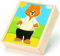 """Деревянная игрушка """"Медвежонок Миша"""""""