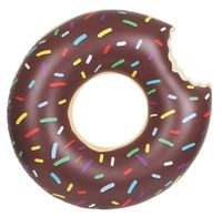 """Круг надувной """"Шоколадный пончик"""" (120 см)"""