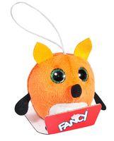 """Мягкая игрушка-брелок """"Глазастик. Лиса"""" (8 см)"""