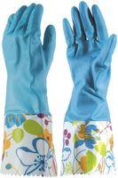 Перчатки хозяйственные резиновые (L; 1 пара)