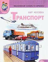 Тематический словарь в картинках. Мир человека. Транспорт