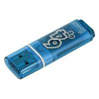 USB Flash Drive 64Gb SmartBuy Glossy series (Blue)