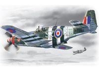 """Истребитель ВВС Великобритании """"Мустанг MK III"""" (масштаб: 1/48)"""