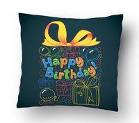 "Подушка маленькая ""Happy Birthday"" (art. 20)"