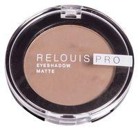 "Тени для век ""Relouis Pro Eyeshadow Matte"" (тон: 12, warm taupe)"