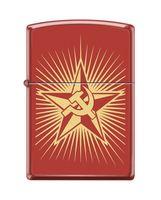 "Зажигалка Zippo ""Russian Hammer Sickle"" (233)"