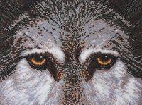"""Вышивка бисером """"Волк"""" (270х215 мм; арт. Б-057)"""