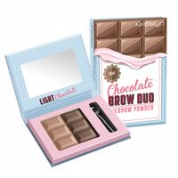 "Пудра для бровей ""Chocolate brow duo"" тон: 02, light chocolate"