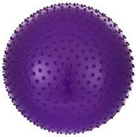 Мяч гимнастический массажный GB-301 (65 см; фиолетовый)