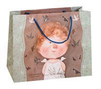 """Пакет бумажный подарочный """"Гапчинская"""" (24х32х9 см; в ассортименте; продается только в розничных магазинах OZ)"""