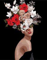 "Картина по номерам ""Мифология женской красоты. Тщеславие"" (400х500 мм)"