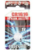 Батарейка CR1616 Maxell литиевая