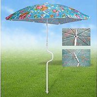 Зонт пляжный складной (198х180 см)