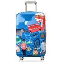 """Чехол для чемодана """"London"""" (средний)"""