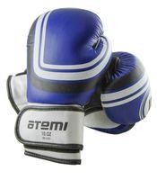 Перчатки боксёрские LTB-16101 (S/M; синие; 10 унций)