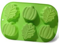 """Форма для выпекания кексов силиконовая """"Листья"""" (250х168х38 мм)"""