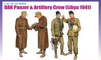 """Набор миниатюр """"DAK Panzer & Artillery Crew Libya 1941"""" (масштаб: 1/35)"""