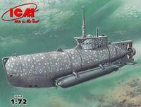 "Германская подводная лодка ""Seehund"" тип XXIIB (масштаб: 1/72)"