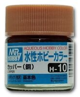 Краска Aqueous Hobby Color водоразбавляемая (copper, H-10)