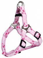 "Шлея для собак ""Modern Art Harness Rose Hearts"" (размер XS-S, 30-40 см, розовый, арт. 16028)"