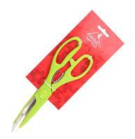 Ножницы кухонные металлические с пластмассовыми ручками (21,5 см; арт. KL42A06)