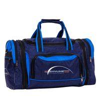 Спортивная сумка 6067-1 (сине-голубая)