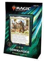Magic the Gathering. Commander 2019. Primal Genesis