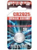 Батарейка CR2025 Maxell литиевая