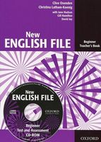 New English File. Beginner. Teacher`s Book with Test and Assessment (+ CD)
