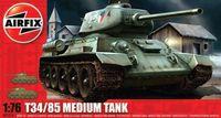 "Cредний танк ""Танк T34 - 85"" (масштаб: 1/76)"
