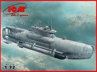 """Германская сверхмалая подводная лодка II МВ Тип XXVIIB """"Seehund"""" (масштаб: 1/72)"""