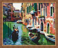 """Картина по номерам """"Каналы Венеции"""" (400х500 мм; арт. G086)"""