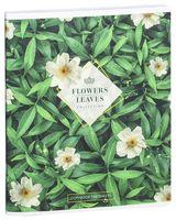 """Тетрадь полуобщая в клетку """"Leaves & Flowers"""" (48 листов; в ассортименте)"""
