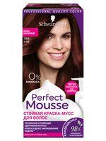 """Краска-мусс для волос """"Perfect Mousse"""" тон: 388, красно-каштановый"""
