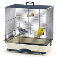 """Клетка для птиц """"Primo 30"""" (40x24x42 см; темно-синяя)"""