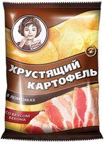 """Чипсы картофельные """"Хрустящий картофель. Со вкусом бекона"""" (160 г)"""