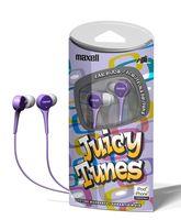Наушники Maxell JUICY TUNES (Purple)