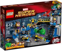 "LEGO Super Heroes ""Халк разрушает лабораторию"""