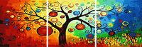 "Картина по номерам ""Дерево богатства"" (500x1500 мм; арт. MT3011)"