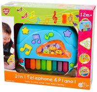 """Музыкальная игрушка """"Телефон и пианино"""" (со световыми эффектами)"""