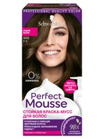"Краска-мусс для волос ""Perfect Mousse"" тон: 500, средний каштан"