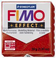 """Глина полимерная """"FIMO Effect"""" (красный металлик; 56 г)"""