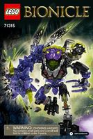 """LEGO Bionicle """"Монстр землетрясений"""""""
