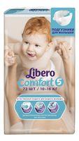 """Подгузники """"Comfort 5"""" (10-16 кг; 72 шт.)"""