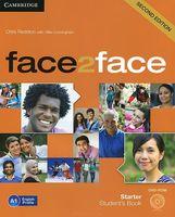 Face2Face. Starter. Student`s Book (+ DVD)