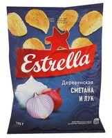 """Чипсы картофельные """"Estrella. Сметана и лук"""" (125 г)"""
